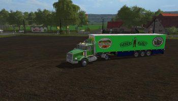 TRUCK + TRAILER FARMERS V1.0.0.0 для Farming Simulator 2017