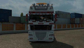 HOLLAND STYLE DAF SKIN для Euro Truck Simulator 2