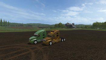 CAT TRUCK V1.0 для Farming Simulator 2017