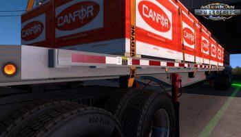 FONTAINE PHANTOM 48X102 TRAILER V1.0 для American Truck Simulator