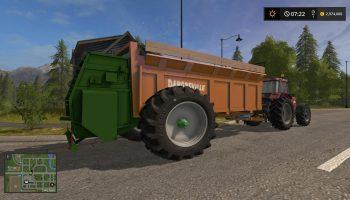 EPANDEUR DANGREVILLE V1.0 для Farming Simulator 2017