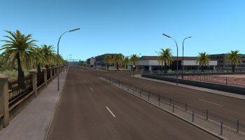 AFROMAP V1.6 PRO для Euro Truck Simulator 2
