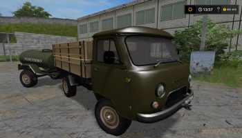 УАЗ-3303 Pack V 2.0 Gear Box для Farming Simulator 2017