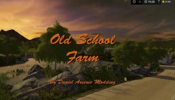 OLD SCHOOL FARM V2.0 для Farming Simulator 2017