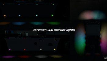 BOREMAN LED MARKER LIGHTS PACK ВЕРСИЯ 1.6 для American Truck Simulator