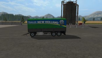 TRAILER NEW HOLLAND KRONE UAL V1.0.0.0 для Farming Simulator 2017