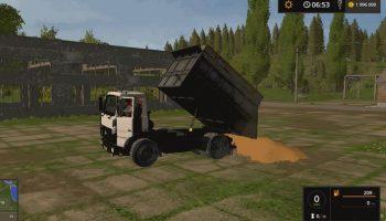 МАЗ 5551 V1.0 для Farming Simulator 2017
