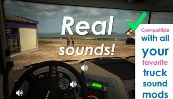 SOUND FIXES PACK ВЕРСИЯ 18.18 для American Truck Simulator