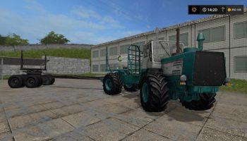 XТЗ T-150K Лесовоз V1.0 Gear Box для Farming Simulator 2017