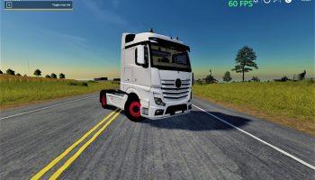 Mercedes Actros MP4 v1.0.0.0 для Farming Simulator 2019