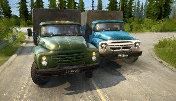 ЗИЛ-130 ВЕРСИЯ 1.2 для Spin Tires
