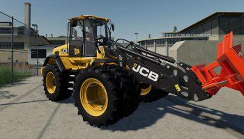 JCB 435 S для Farming Simulator 2019
