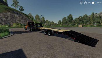 PJ FLAT 24FT для Farming Simulator 2019