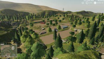 US MAP для Farming Simulator 2019