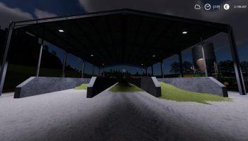 TRIPLE SILO PLACEABLE для Farming Simulator 2019