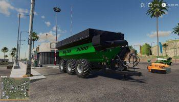 BALZER 2000 GRAIN CART для Farming Simulator 2019