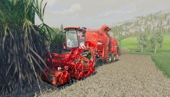 HOLMER TERRA DOS T4 + HOLMER HR12 для Farming Simulator 2019