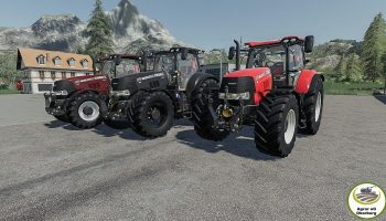 Трактор серии Case Puma v1.0 для Farming Simulator 2019