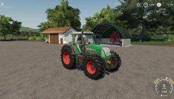 Fendt 818 TMS v1.0.0.0 для Farming Simulator 2019