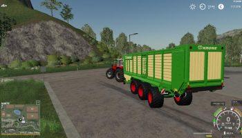 Krone ZX560GD v0.8 FS19 для Farming Simulator 2019