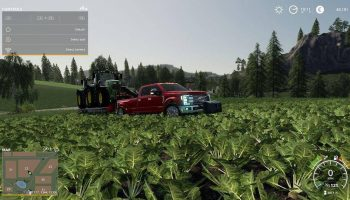 Updated 2019 Ford F450 Platinum v3.0 FS19 для Farming Simulator 2019