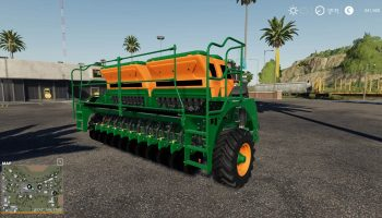 50 meter seeder Ceres 3570 v1.0 FS19 для Farming Simulator 2019