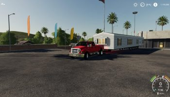 Clayton Mobile Home v1.0 FS19 для Farming Simulator 2019