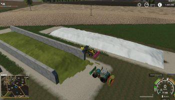 FreilandSilo Plazierbar v1.5 для Farming Simulator 2019