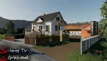 NORMALNA WIES Map V3.0 для Farming Simulator 2019