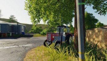 Ursus C355 Czer v1.0 для Farming Simulator 2019